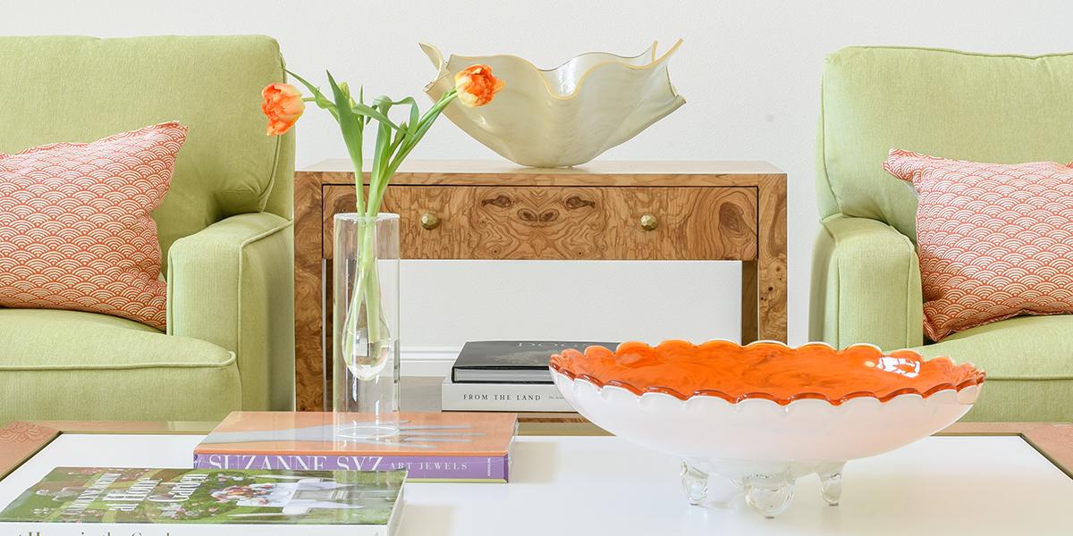Living room coffee table top photo